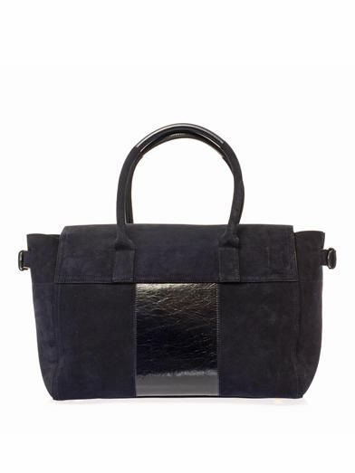 Mulberry Bayswater Buckle suede tote