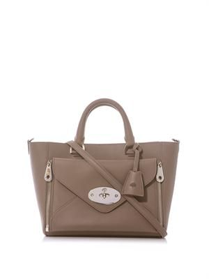 Willow leather tote