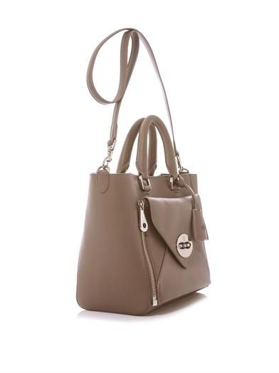 Mulberry Willow leather tote