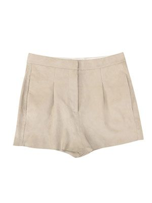 Sensational suede shorts