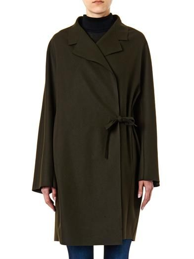 Acne Studios Ember raw-edge wool coat