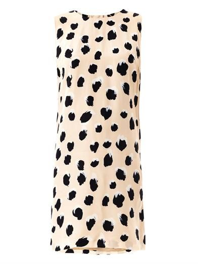 Acne Studios Palm lynx-print dress