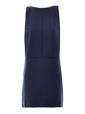 Tilda fluid V-back dress