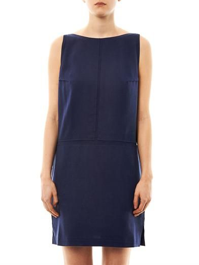 Acne Studios Tilda fluid V-back dress