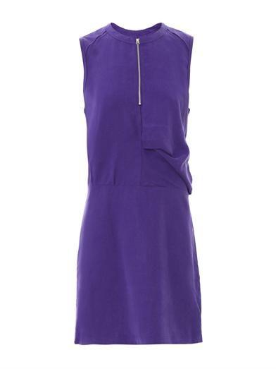 Acne Studios Twist fluid sleeveless dress