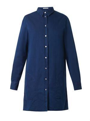 Lyric denim shirt dress
