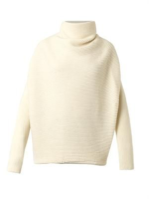 Galactic high-neck wool sweater