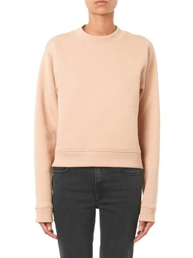 Acne Studios Bird cropped sweatshirt