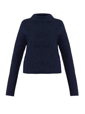 Loyal wool and mohair-blend sweater