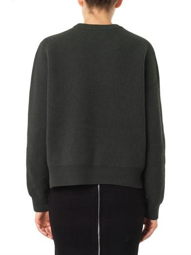 Acne Studios Misty boiled-wool sweater