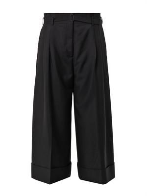 Habit wide-leg cropped trousers