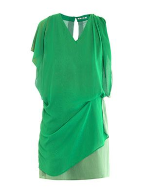 Mallory draped dress