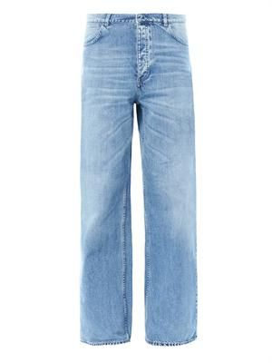 Drift mid-rise flared jeans