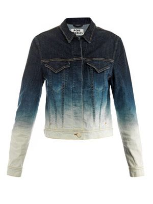Stace degradé denim jacket
