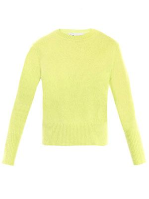 Lia angora sweater