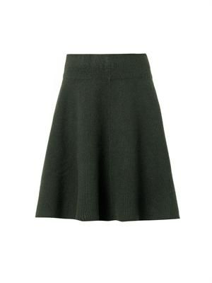 Dancer boiled-wool skirt