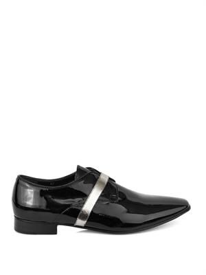 Pel patent leather derby shoes
