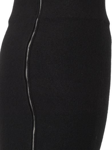 Acne Studios Donna boiled-wool pencil skirt