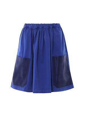 Ivy gabardine skirt