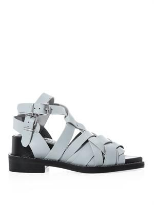 Lenna leather strap sandals