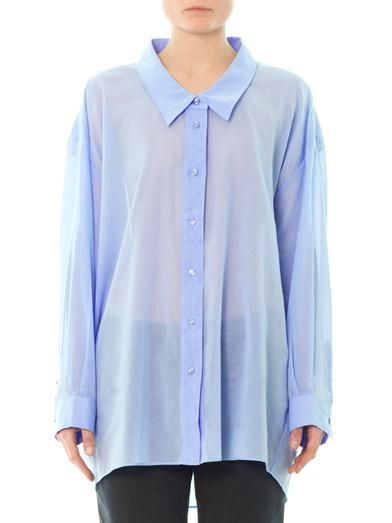 Acne Studios Roni oversized shirt