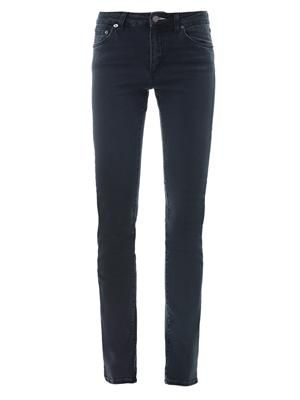 Needle high-waisted skinny-leg jeans