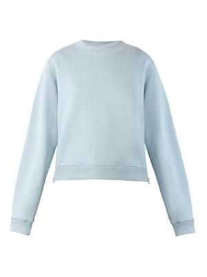 Bird cropped sweatshirt