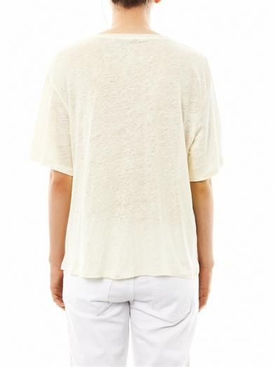 Acne Studios Wonder linen T-shirt