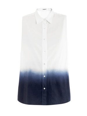 Pina dip-dye degrade shirt