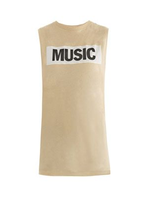 Zone Music tank top