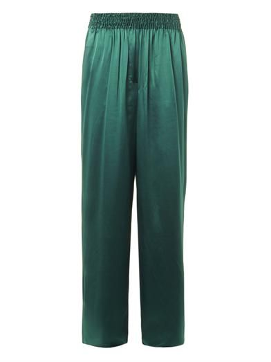 Acne Studios Heart silk-satin trousers