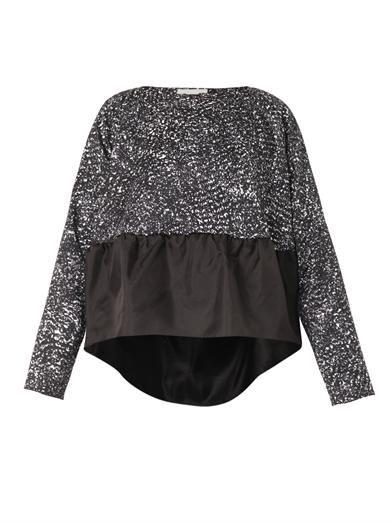 Antonio Berardi Ruffle-hem blouse
