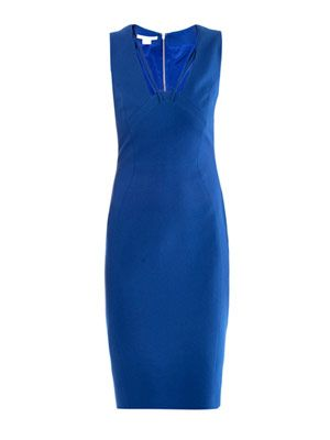 Cady sleeveless body-con dress