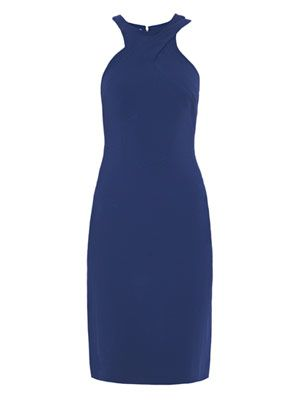 Racer back stretch cady dress