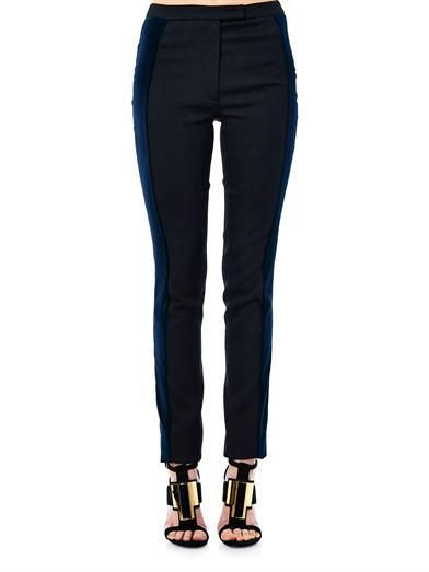 Antonio Berardi Tri colour panel trousers