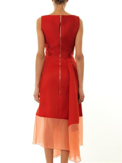 Antonio Berardi Waterfall-hem sleeveless dress