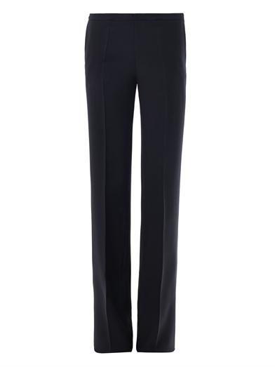 Antonio Berardi Wide leg tuxedo trousers
