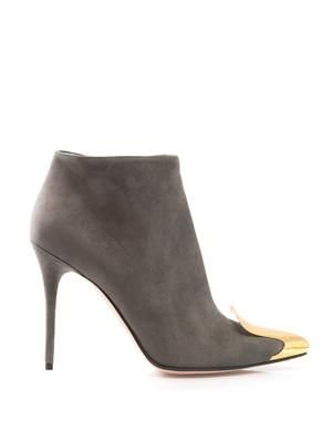 Metal-toecap ankle boots