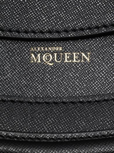 Alexander McQueen Heroine classic leather tote