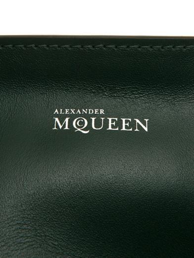 Alexander McQueen Padlock zip-around shoulder bag