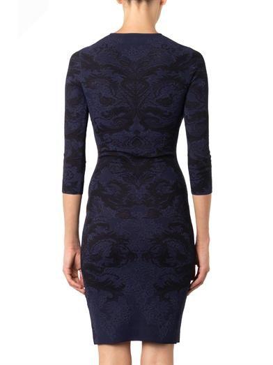 Alexander McQueen Baroque lace-jacquard dress
