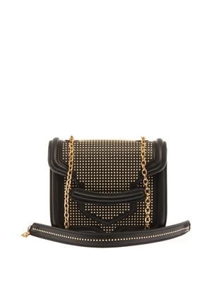 Heroine mini leather shoulder bag