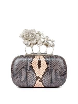 Knucklebox python clutch