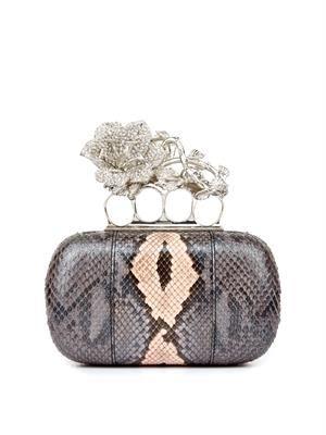 Knucklebox python clutch