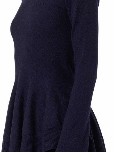 Alexander McQueen Peplum sweater