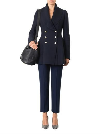 Alexander McQueen Wool and cashmere-blend cardigan