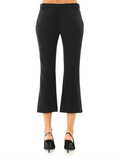 Alexander McQueen Tailored cropped flared trousers