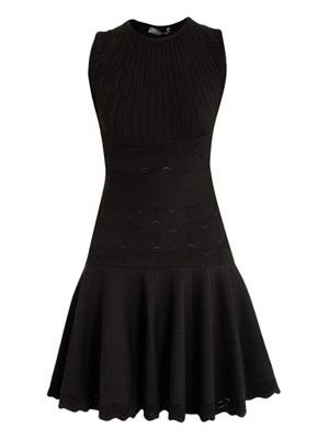 Klimt jacquard knit dress