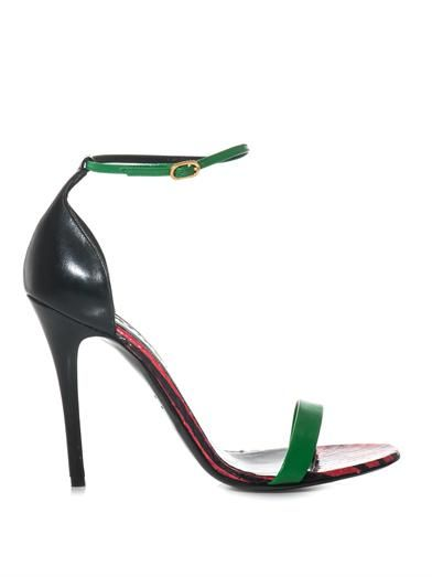 Alexander McQueen Colour-block sandals