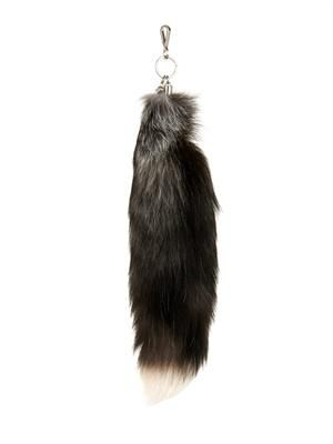 Fox-fur key-fob